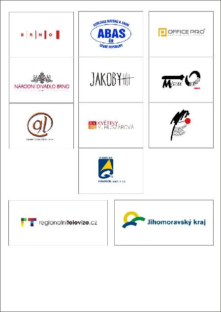 Partneři Regionálního kola Brno